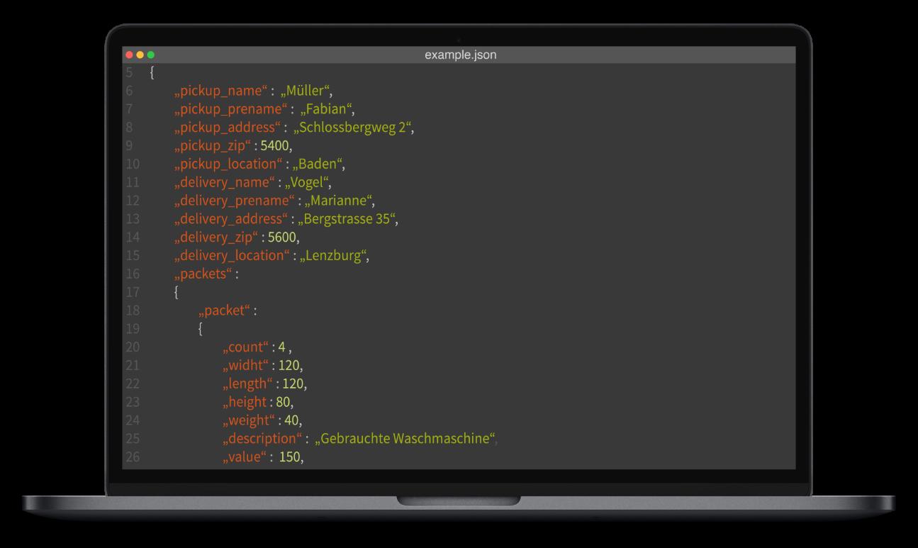 Pickwings API-Schnittstelle
